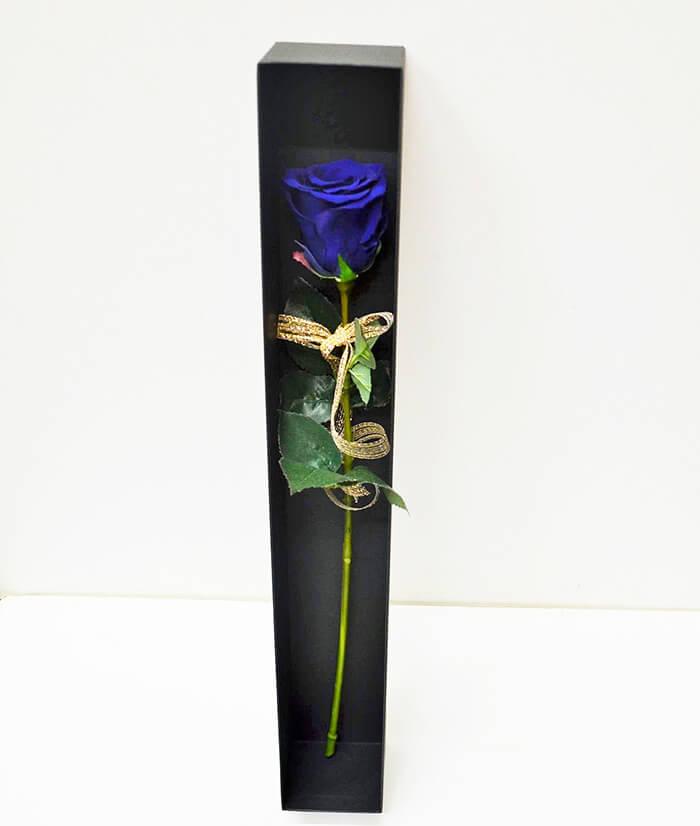 誕生日祝いプリザーブドフラワー花束1輪