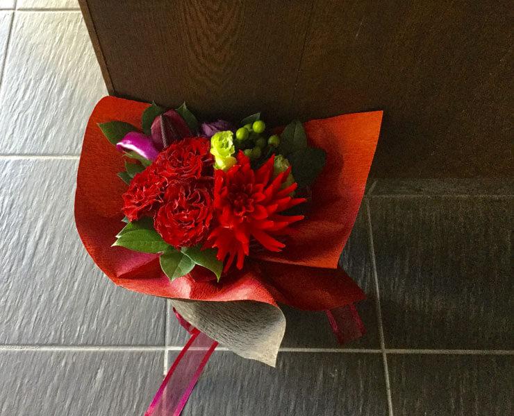 レストランお届け花束