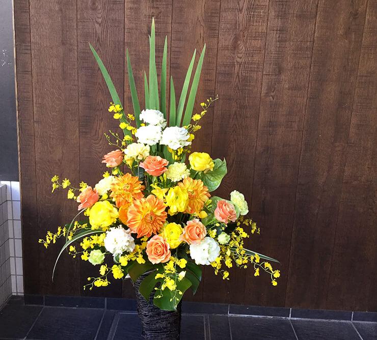 就任祝い移転祝い花