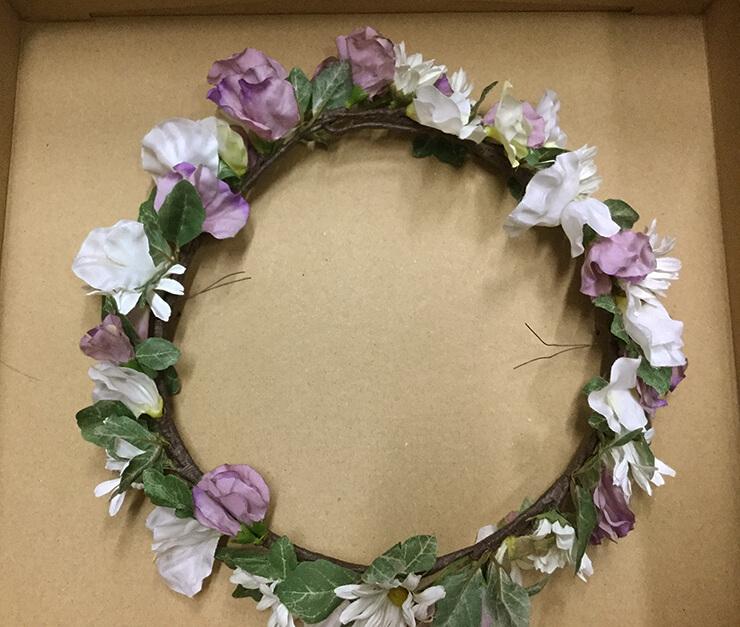 幕張メッセ 乃木坂山下美月様に贈られた花冠