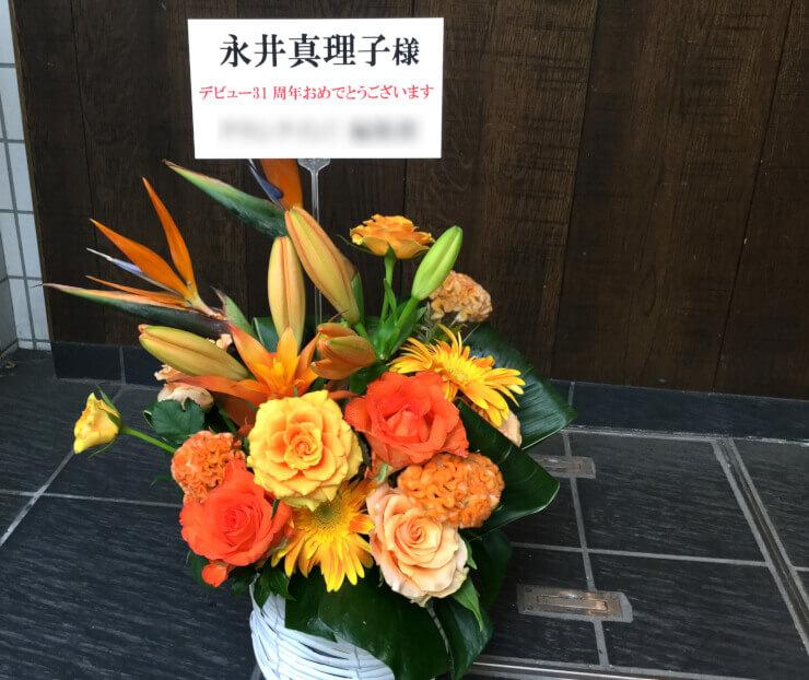 ライブ楽屋花