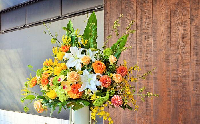 周年祝いコンサート祝いスタンド花