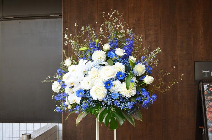 受賞祝い スタンド花