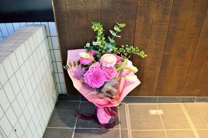 誕生祝い花束
