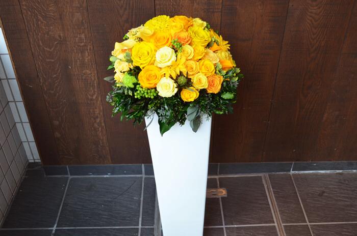 開業祝い花プリザーブドフラワー