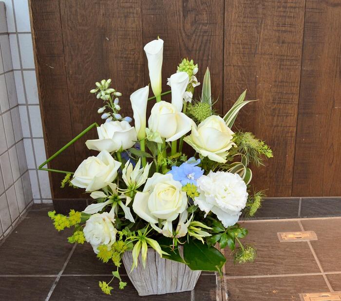 サイン会祝い花