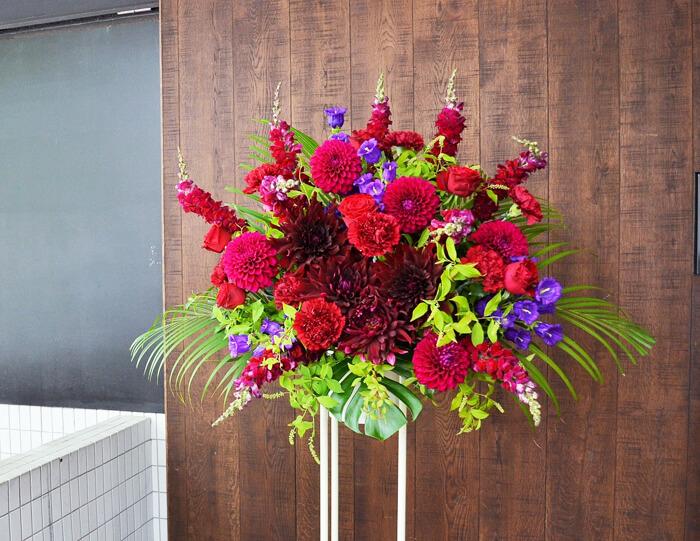 周年祝いスタンド 花