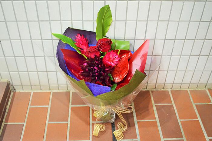 楽屋花花束