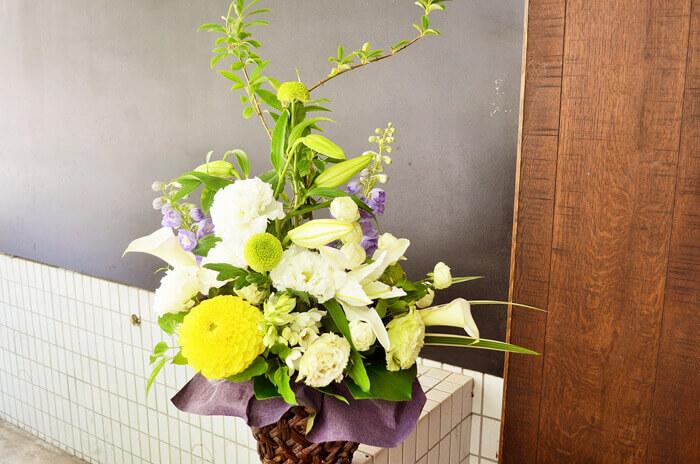 卒寿祝い花