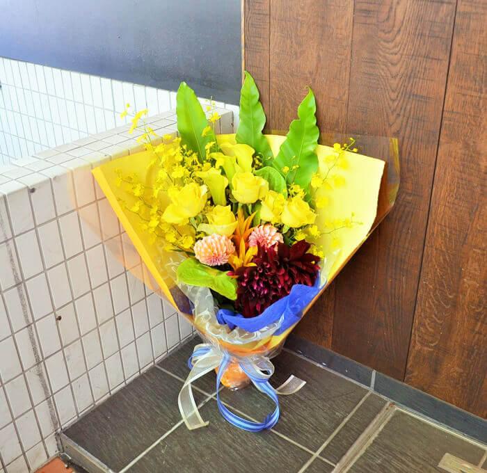 誕生日祝い花束