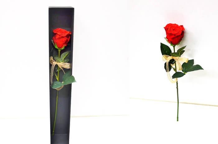 誕生日祝いにプリザーブドフラワー花束