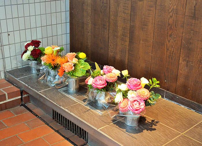 お祝い花アレンジメント