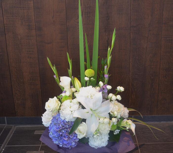 喜寿祝い花
