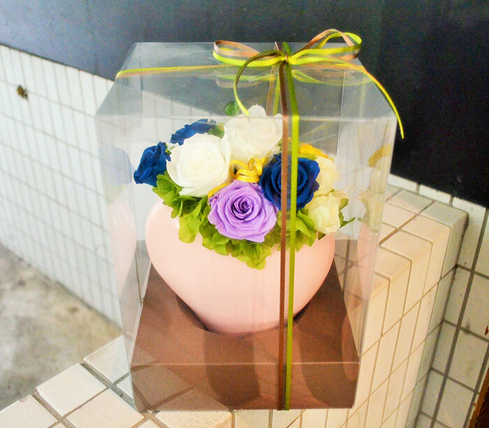 ペットお供え花プリザーブドフラワー
