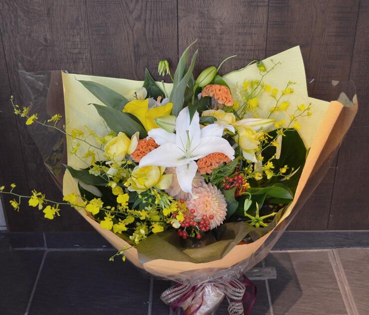 昇進祝い花束