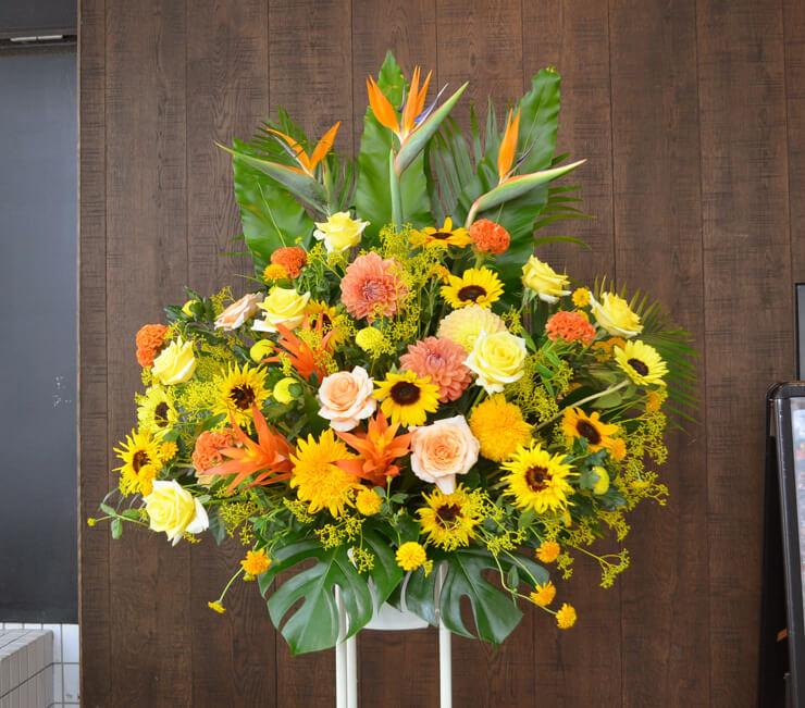 開店祝いスタンド花