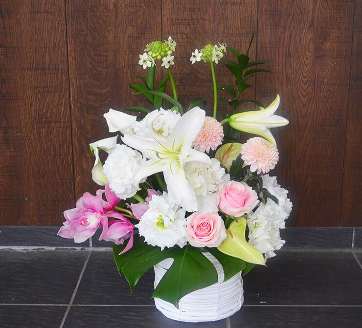 百寿祝い花