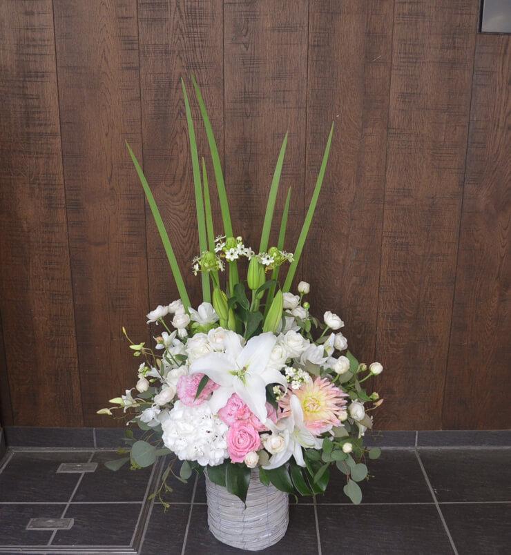 複合施設開設式祝い花