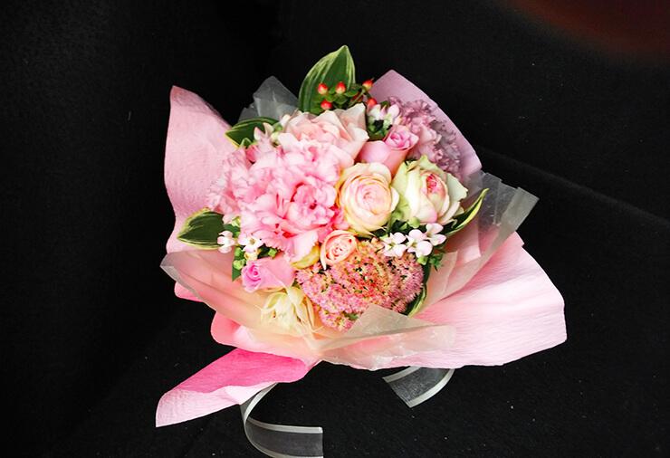 フレンチレストラン届け花束