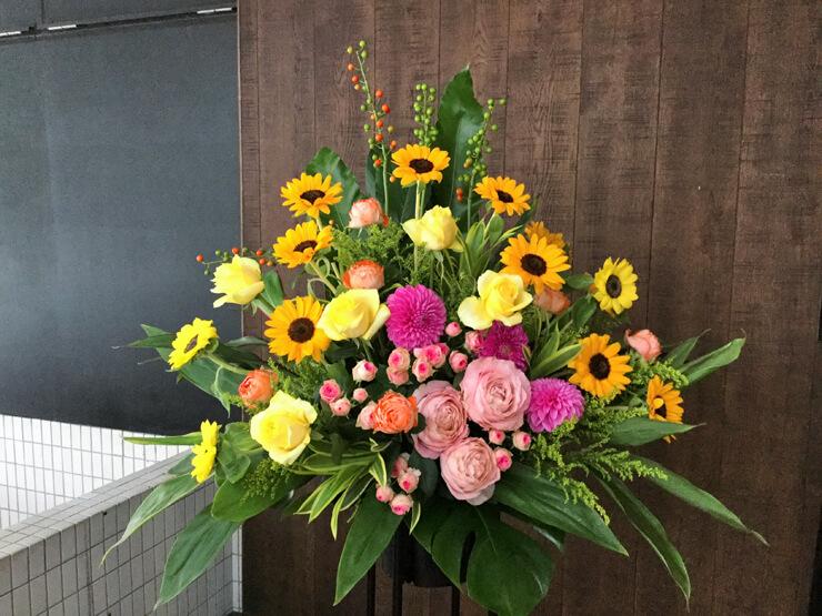 ヘアサロン開店祝いスタンド花