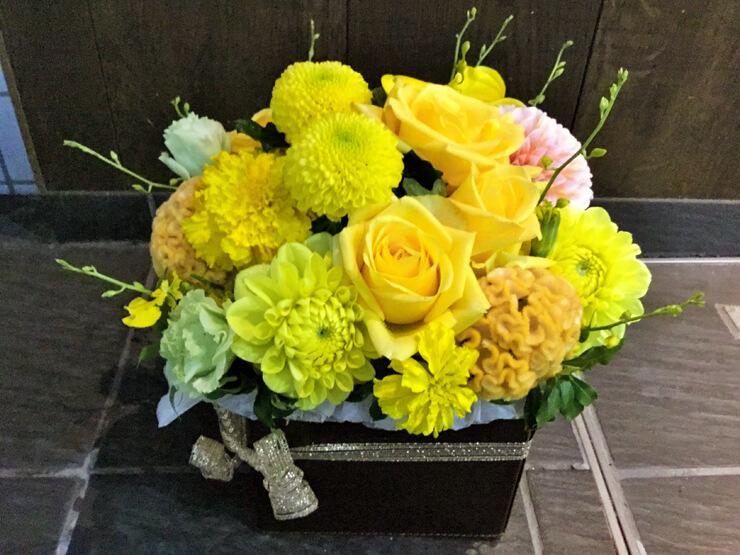 米寿祝い花