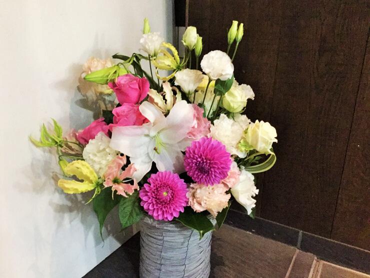 結婚祝い花