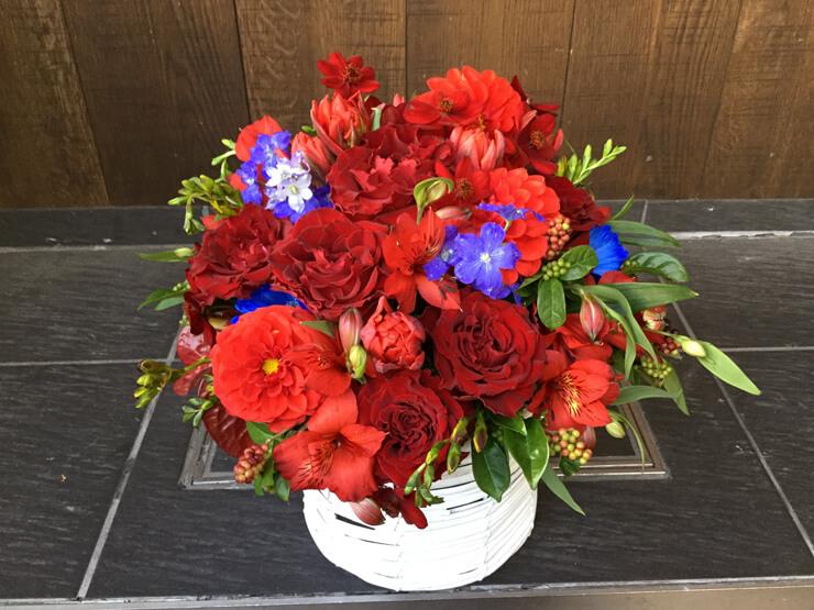 舞台千秋楽祝い花