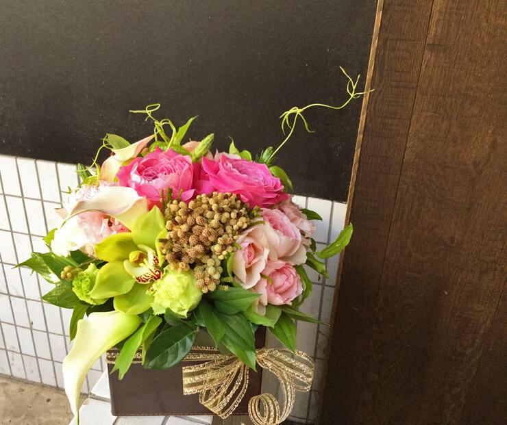 舞台出演祝い花