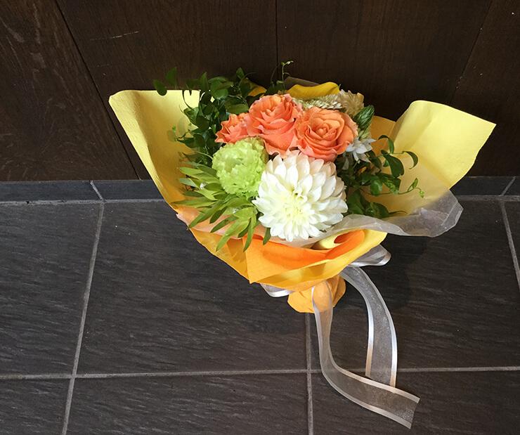 お土産花束