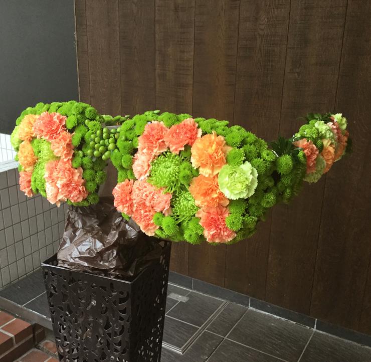 イベント眼鏡メタルスタンド花