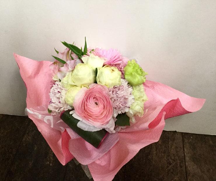 麻布十番 誕生日祝い花束