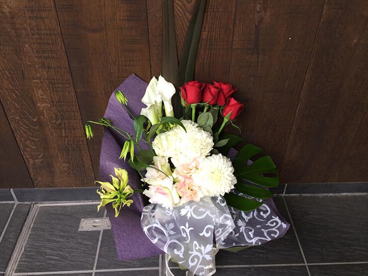 舞台中日祝い花束