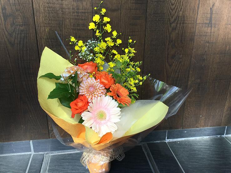 千秋楽祝い花束