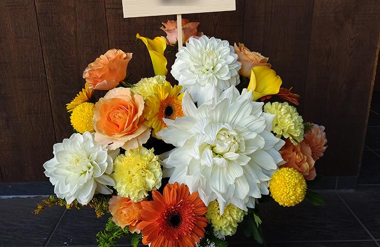 明治座 小早川俊輔様の公演祝いにお届けした花