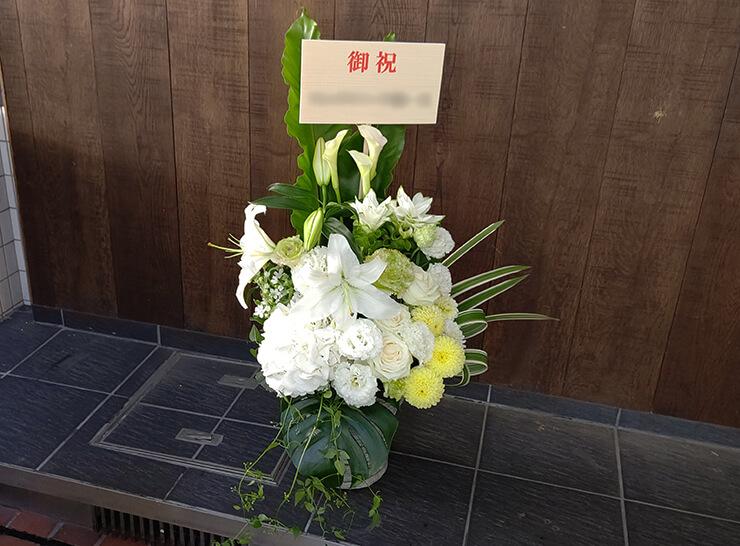 有楽町 クロフオード&カンパニージャパン㈱様の移転祝いにお届けした花