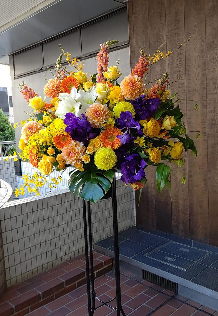 東京国際フォーラム GACKT様へお届けしたスタンド花