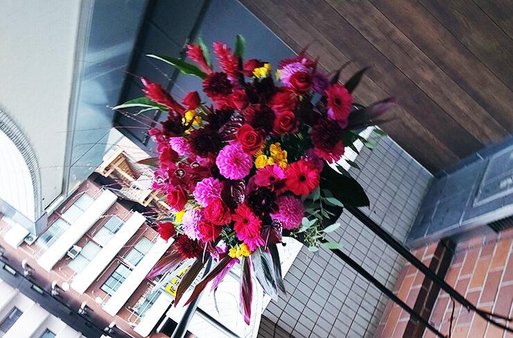 BluesAlleyJapan 川島ケイジ様の公演祝いにお届けしたスタンド花