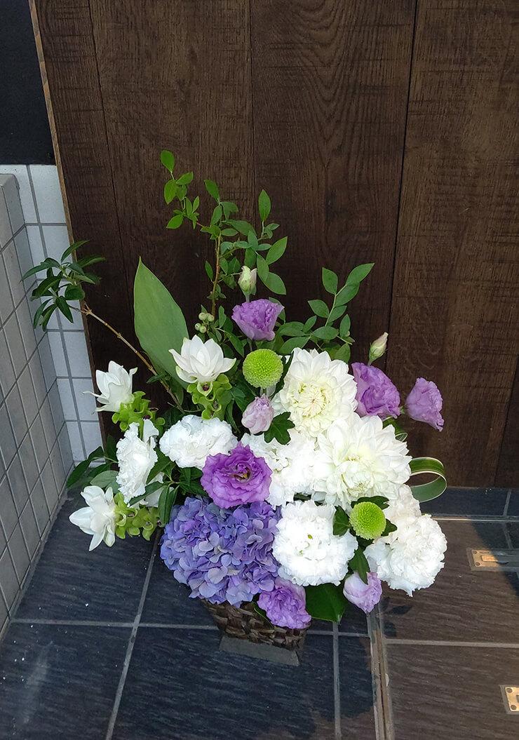 宮城県 誕生日祝いに贈られた花
