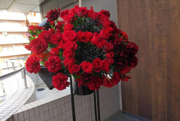 品川ステラボール クラシカロイド音楽祭公演祝いにお届けしたスタンド花