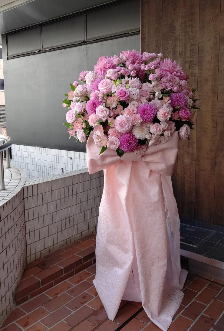 東京ドームシティホール 三村遥佳様のD4DJ3rdLIVE-departure-出演祝いにお届けしたスタンド花