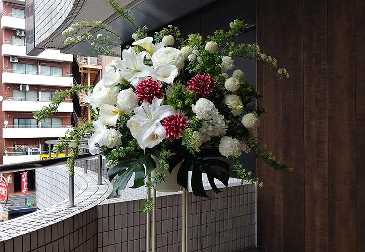 南青山 MANDLA飯田俊明様のライブ公演祝いにお届けしたスタンド花