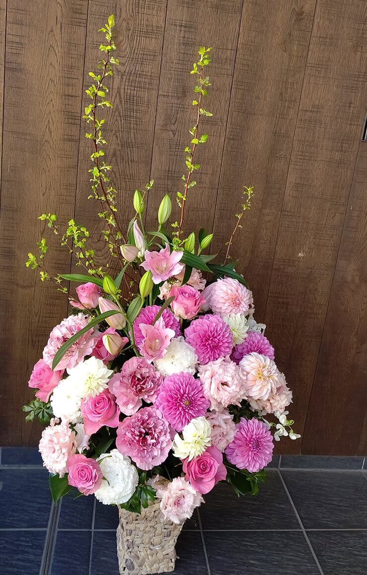 新国立劇場 桂文珍様の公演祝いにお届けした花