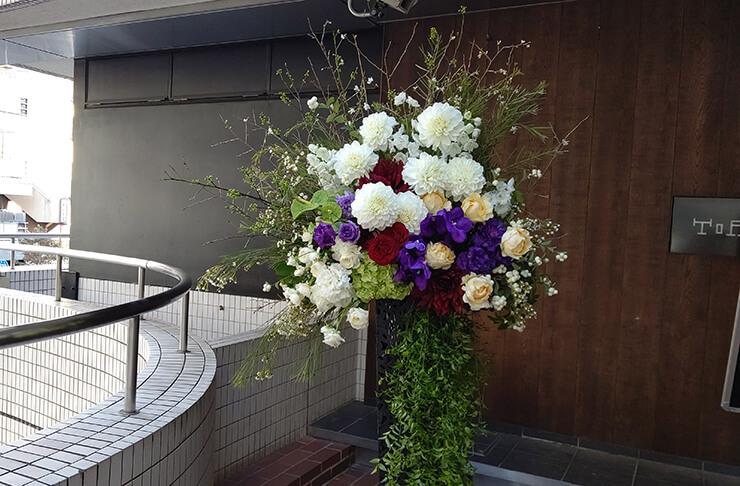 ZeepDivercityTokyo デーモン閣下様のライブ公演祝いにお届けしたスタンド花