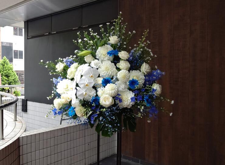 LINE CUBE SHIBUYA 佐々木恵梨様のゆるキャン△音楽会2019出演祝いにお届けしたスタンド花