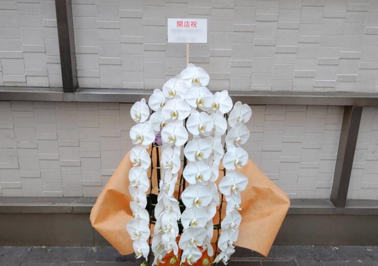 銀座 TOSHUBO様の開店祝いにお届けした胡蝶蘭