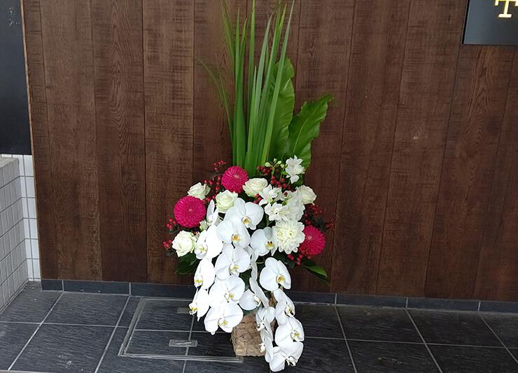 六本木 THE ROPPONGI CLiNIC様の開院祝いにお届けした花