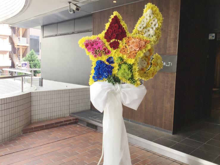 Zeeptokyo 美男高校地球防衛部HAPPY kiSS!LIVE!にお届けした5角形モチーフスタンド花