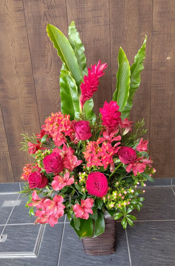 JZBrat 真部祐様のお誕生日祝いにお届けした花